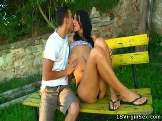 tits, teen sex, outdoor sex