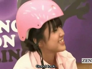 Subtitled jepang amatir bowling permainan dengan seks empat orang