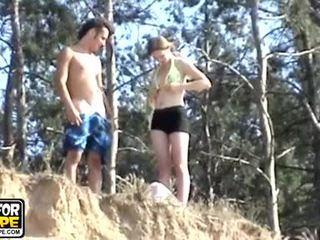Have you ever fucked your babes tight ass outdoors Video