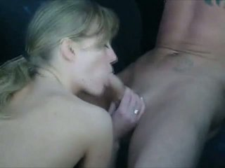 Milf Gets Fucked in a Car