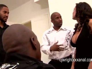 Lisa ann - daam milf gangbanged poolt blacks guy