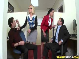 hardcore sex, facesitting, office