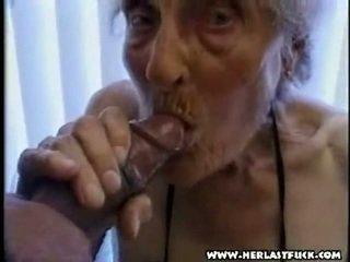 I vështirë xxx e moshuar grandmother porno