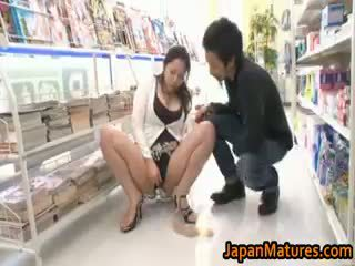Ayane Asakura Asian MILF Has Public Sex Part2