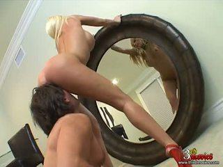 Blobde Breasty Gina Lynn Getting Screwed On Her Slit Sideways