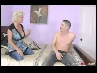Busty Mother Fucks Sons Friend