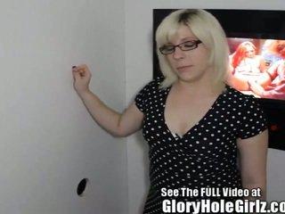 School Teacher Slut in Glory Hole!