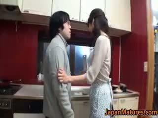 امرأة سمراء, اليابانية, مجموعة الجنس, كبير الثدي
