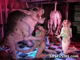 ทรีดี การ์ตูน เฮนไท การ์ตูน ประหลาด ปลาหมึกยักษ์ สัตว์ประหลาด สิ่งของที่ทำให้มีอารมณ์ สุดๆ ogre ยักษ์ การ์ตูน สลับบทบาท การ์ตูนญี่ปุ่น สติแตก elf เอเลี่ยน สำเร็จความใคร่ ขี้เหร่