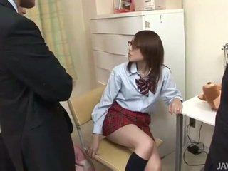 Японська підліток rino mizusawa збуджена удар статтєві зв'язки