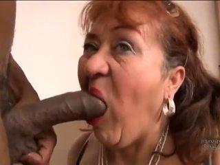 Picked 向上 老 西班牙人 奶奶 为 screwing pleasures
