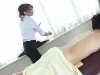 Naughty japanese anna mizukawa sucking hairy cock