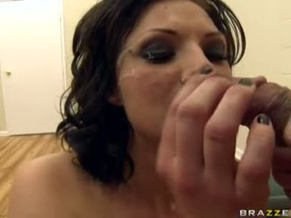 PornStar Ava Rose Wanted More Cum On Her Mouth After A Horny One On One Slam