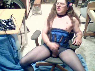 crossdresser, wanking nice, lingerie great