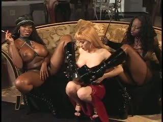 Lesbian sex slave strapon