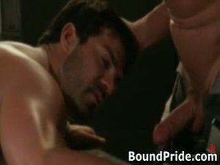 Tyler And Vince Hunky Muscle Gays Bizarre S&m