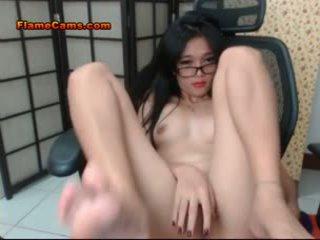 Tiny Titties Asian Teen