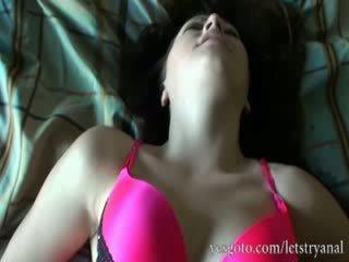 業餘 alisa ford 第一 時間 肛門 tryout