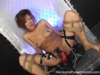 japoński, tortura, skrajny, związany