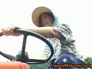 Chisato shouda asiatisk eldre kvinne gets part6