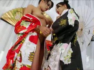 Yummy oriental beauties annie cruz and asa akira bokong wrecked