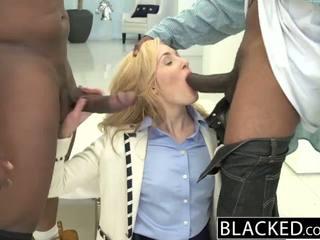 Blacked 2 grande negra dicks para rica blanca chica