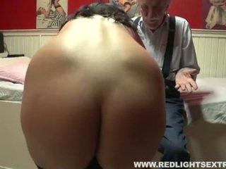 Régi férfi visits prostituált