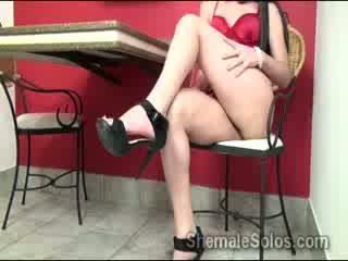 brunette, booty, striptease