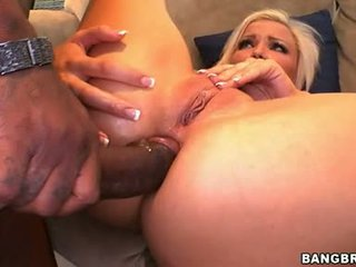 Lewd Babe Nicky Angel Receives Her Tight Ass Banged Deep With A Monster Shaft