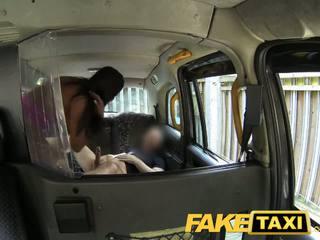 Faketaxi seksikas ameerika falls jaoks vana taxi trikk