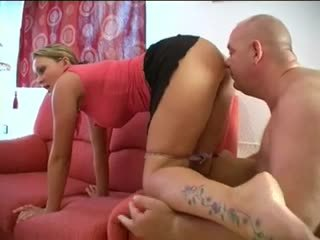 She farts, he sniffs and licks her ass and cunt! Amateur!