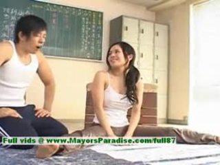 Sora aoi horký dívka půvabný číňan modelu enjoys getting teased