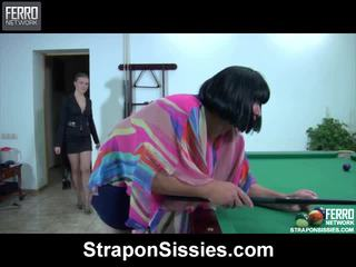 Alana és monty female dressed pair onto videó