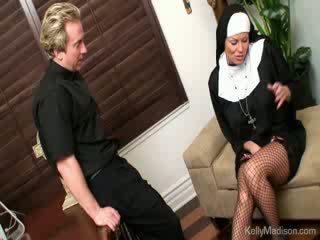 pornografía, grande, tetas