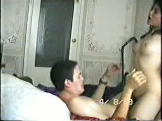 Arabisk amatør plays knulling