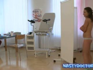 Russian Gynecologist Exams Teen Cunt
