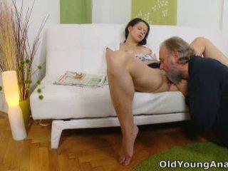 Dubur seks craving remaja begs lebih tua lelaki kepada mengambil beliau kembali passage