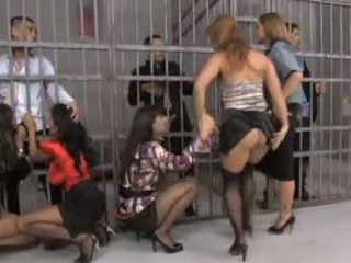 Nice group orgy in prison