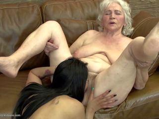 adolescență, lesbiene, grannies, matures