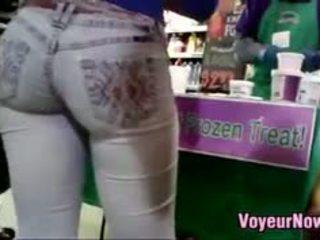 voyeur, ass, public, fetish