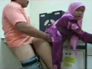 Hijab kontoris fuck