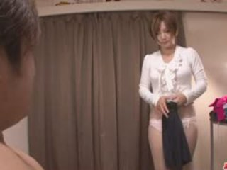 MILF Meguru Kosaka Sucks Dick And 69s In POV