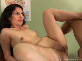 Naughty latina MILF loves to fuck and facial cumshots