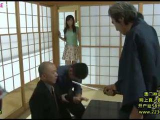 briunetė, japonijos, makšties masturbacija, dideli papai