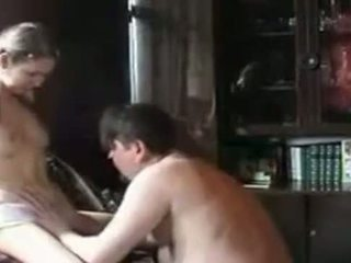 Real dad daughter home video