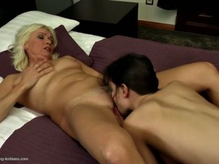 Old but Hot Not Mother Seduces Sexy School Girl: HD Porn cd