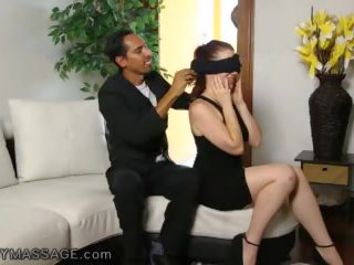 FantasyMassage Jessica Ryan Gets a Surprise Cock