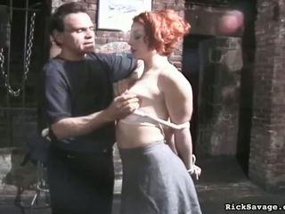 Rick slaps buttcheeks