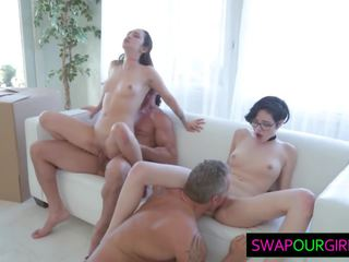 Hot Teens Swapping Their Dads, Free Daughter Swap HD Porn ea