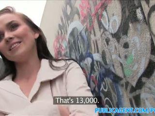 Publicagent nxehtë vogëlushe fucks stranger në alleyway - porno video 961